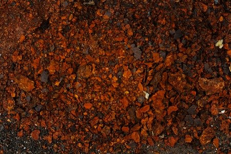 layer styles: A background of peeling paint and rusty old metal Stock Photo
