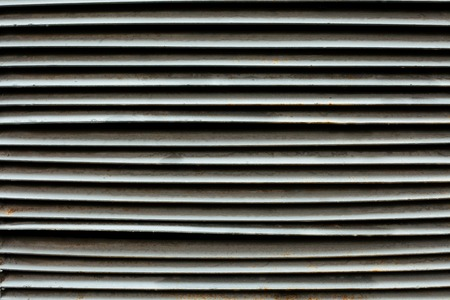 shopwindow: Shopwindow venetian metal blinds as a background