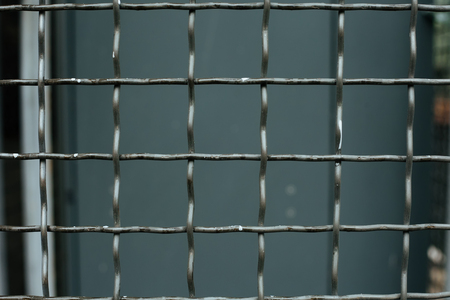 mesh: Steel mesh squares for background industrial industry