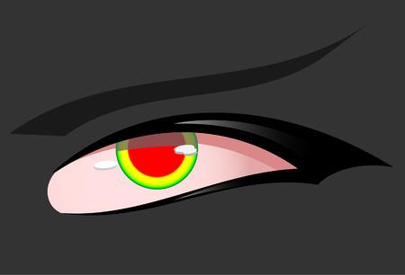 urinare: Occhio del diavolo. Vector. Senza trama.