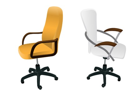 Two armchairs. Vector. Without mesh. Stock Vector - 4767907