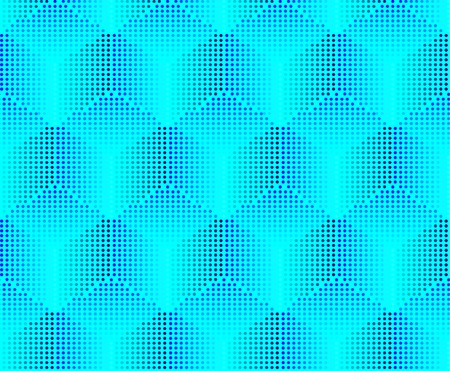 Seamless volume background from pixels. Vector. Without mesh. Vector