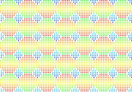 Volume seamless multi-coloured background. Vector. Without mesh. Vector