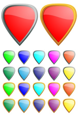 Protection icons. A vector. Without mesh. Stock Vector - 4973569