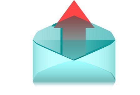 The Outgoing message. A vector. Without mesh.