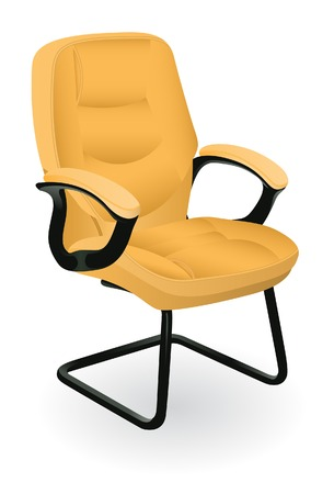 comfortable armchair. Without mesh. Иллюстрация