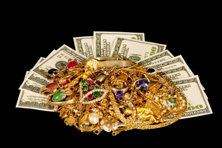Sell your old gold jewelry for cash Stock fotó - 17109515