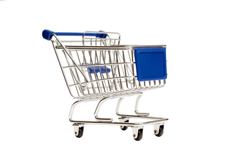 Shopping Cart Isolated XXXL Stock Photo - 17223585