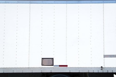 'rig out': Blank Panel Truck Side