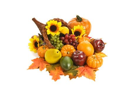 cuerno de la abundancia: Frutas de oto�o
