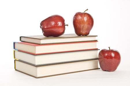 schooltime: Schooltime Books and Apples