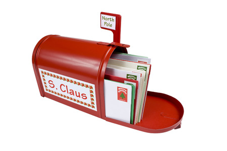 Christmas Mail For Santa Claus photo