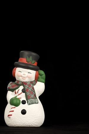 Cheerful Snowman photo