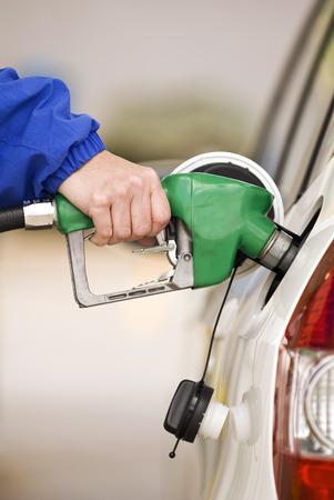 Pumping Precious Petrol Vertical Shot