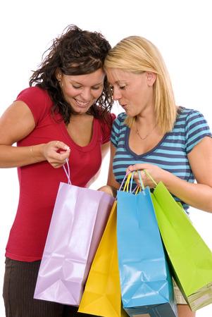 Love Going Shopping Attractive Women Shopping photo