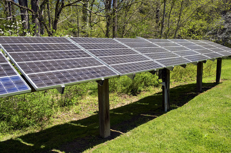 solar array: Large Solar Energy Panel Array