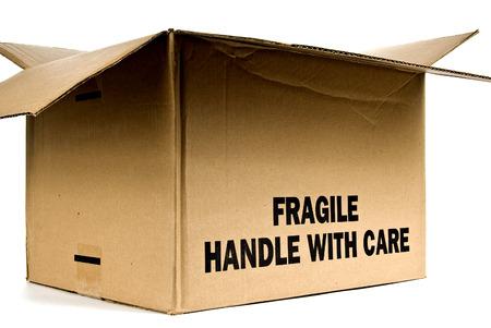 trashed: Box Marked Fragile Opened