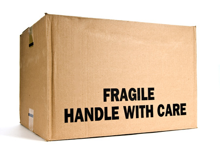 trashed: Fragile Handle With Care Box