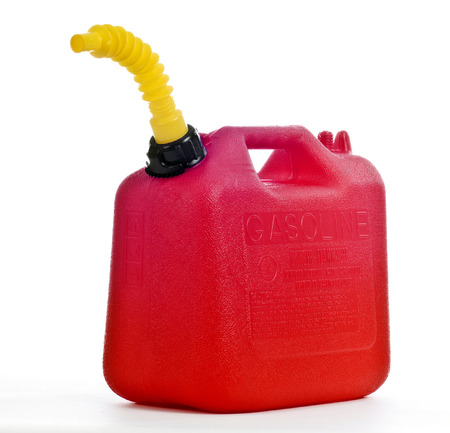 Fuel Can Or Gas Can Stock Photo