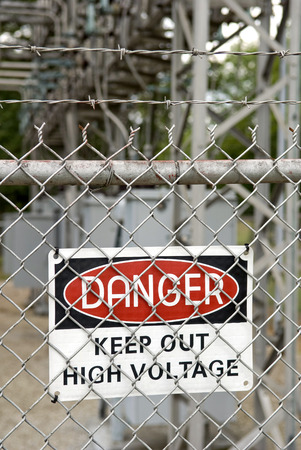 out of danger: DANGER KEEP OUT Sign Vertical Stock Photo
