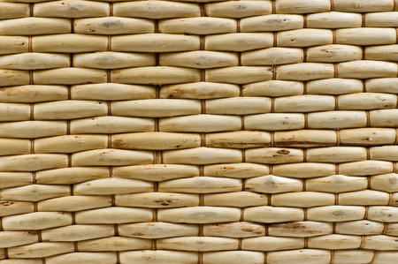 Tightly Woven Wicker Background photo