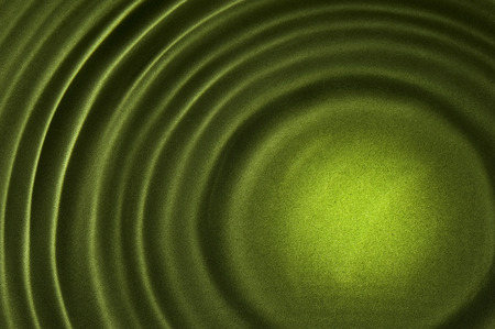 ripple effect: Lighter In Center Of Rippled Background Green