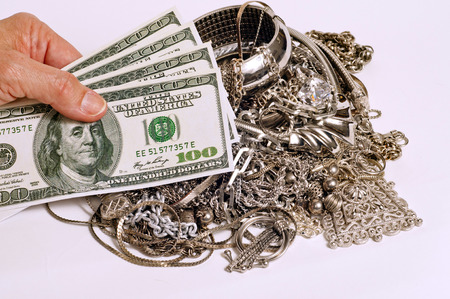scrap trade: Cash Fictitious For Your Silver Jewelry