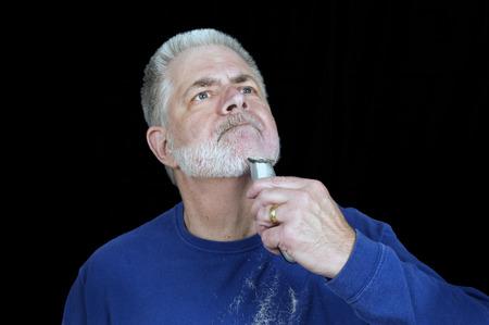 nicked: Afeitarse la barba