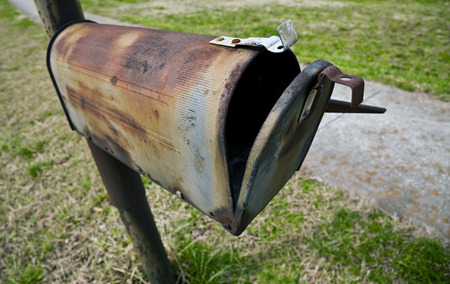 Rusty Old Mailbox