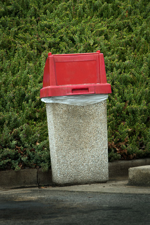 trash container: Outdoor Trash Container