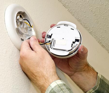 replacing: Replacing Battery In Smoke Detector