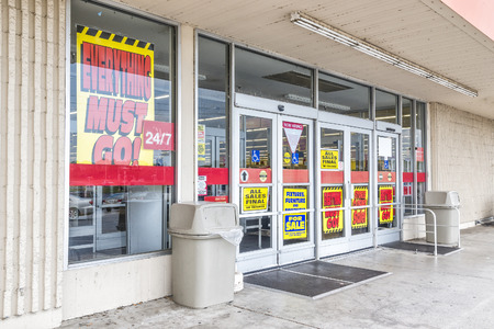 Bankrupt Retail Store Going Out Of Business
