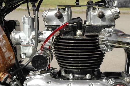 vintage motorcycle engine Stock Photo - 915191