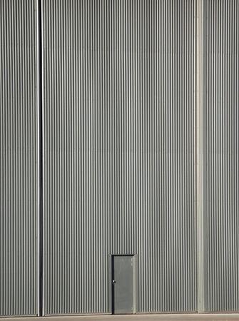 little door to big aircraft hanger