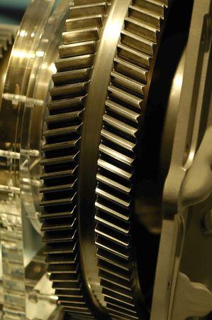 ingeniería engranajes utilizados en la aviación  Foto de archivo - 2274934