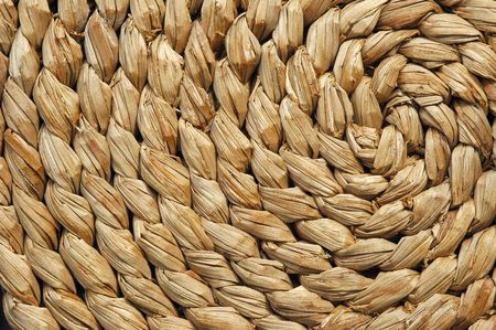 woven wicker spiral background Stock Photo - 3006970