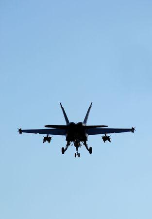 f18: F18 fighter jet silhouette