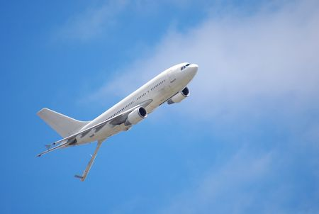 aircraft refueling tanker flying overhead photo