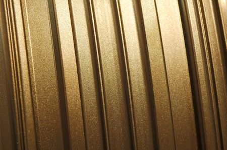 golden glittering metallic panel background Stock Photo - 3350667