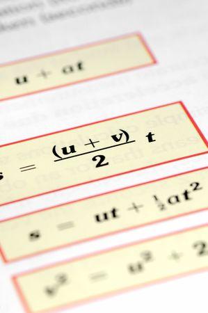 random mathematical equations closeup Stock Photo - 4025100