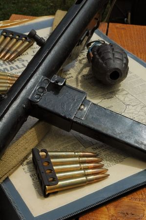 wartime: vintage ww2 weapons and other wartime memorabila