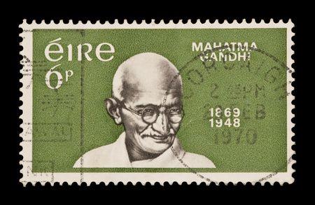 gandhi: EIRE stamp celebrating the birth of Gandhi