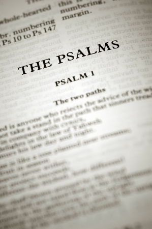 psalm: the psalms biblical scriptures