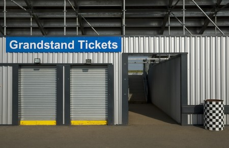 box office for event grandstand tickets photo