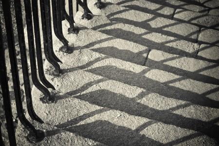 crumbling: crumbling steps of an ancient masonry staircase Stock Photo