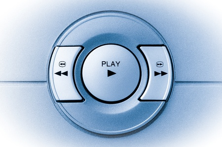 play and rewind buttons on an electronic device photo