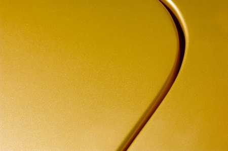 bodywork: glittering golden vehicle panel abstract Stock Photo