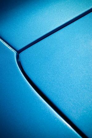 blue glittering vehicle panel background photo