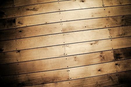 background of weathered wood floor panels Stock Photo - 10780629