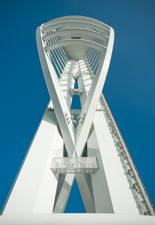 portsmouth: Spinnaker Tower on Gunwharf Quays, Portsmouth UK Editorial